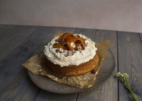 Vegan and gluten free Carrot cake