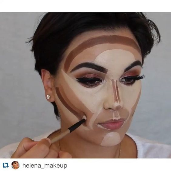 #Repost @helena_makeup with @repostapp.  SONG - New thang - Redfoo @misaki_cosmetics Honey lens @makeupforever HD foundation @anastasiabeverlyhills contour kit - Medium Set with ABH contour palette #doseofcolors Sunkissed highlighter Brushes I used - @opvlashes -  @morphebrushes - @sigmabeauty - @maccosmetics #hudabeauty #makegirlzvid #maquiagem #wakeupandmakeup  #1minutemakeup #meltcosmetics #motivescosmetics #lillylashes #houseoflashes  #morphebrushes #brian_champagne  #makeupslaves…