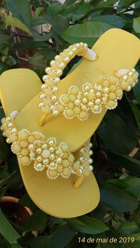25 modelos de chinelos havainas customizados | Blog da Mari Calegari