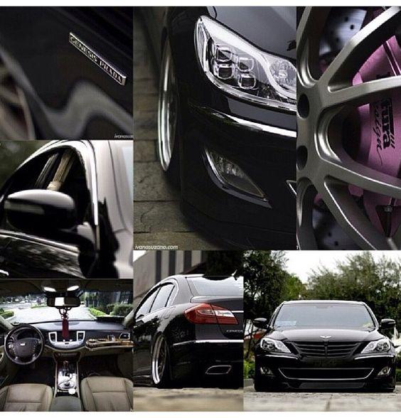 Hyundai Genesis Prada #clean#vipdout#bagged#futura#design