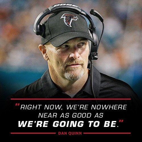 Lots To Look Forward To In The Dan Quinn Era Riseup Falcons Quinning With Images Atlanta Falcons Atlanta Falcons Football Atlanta Falcons Baby