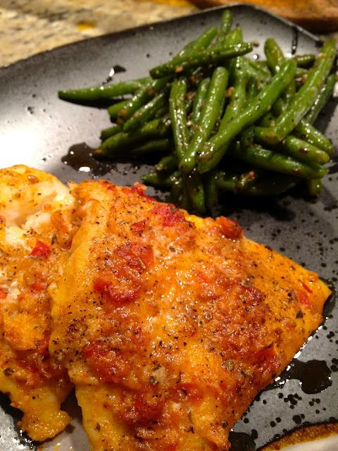 Spicy baked cod recipe food pinterest a well baked for Baking cod fish