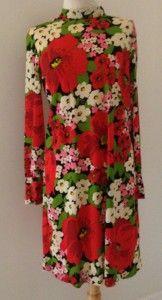 Leonard Tuttman 70's MOD dress.  Read the rest of this blog post @ www.thethrifters.net