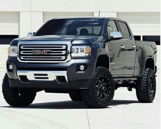 2015 gmc canyon lifted gm trucks pinterest voitures. Black Bedroom Furniture Sets. Home Design Ideas