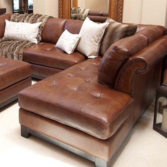 Vẻ đẹp sang trọng và tiện lợi của mẫu sofa da tphcm dạng góc
