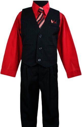 Boys Vest Suits Toddlers Pinstripe Red Shirt Set Size 2T Black n Bianco,http://www.amazon.com/dp/B00DMMLN7C/ref=cm_sw_r_pi_dp_b4dxsb0WHMQE12MP