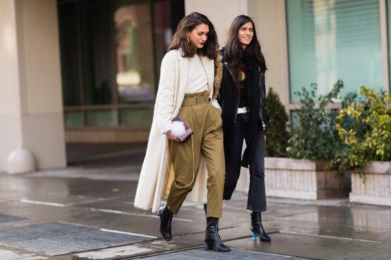 Diletta Bonaiuti NYFW Street Style