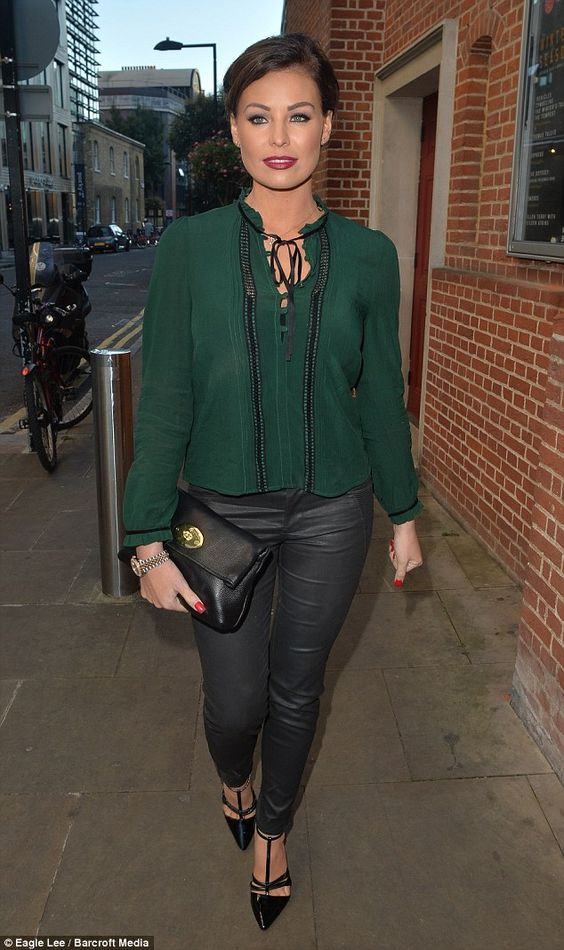 Ready to mingle: Several of Jess' failed relationships have played out on TOWIE...