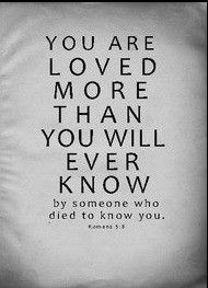 You are loved~