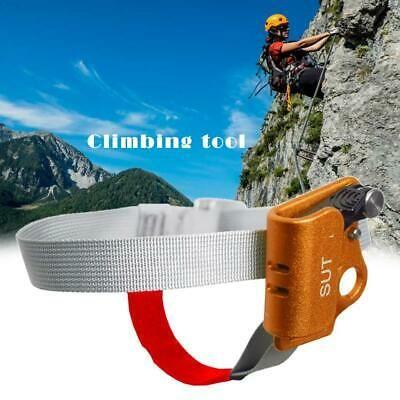 Blue Right Foot Ascender Riser Rock Climbing Mountaineering Equipment Gear