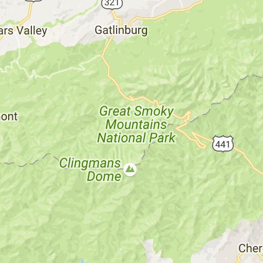 Smoky Mountain Interactive Map | Smokies Adventure