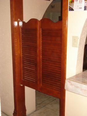 Puerta de cantina cocina pinterest puertas for Puertas para cocina