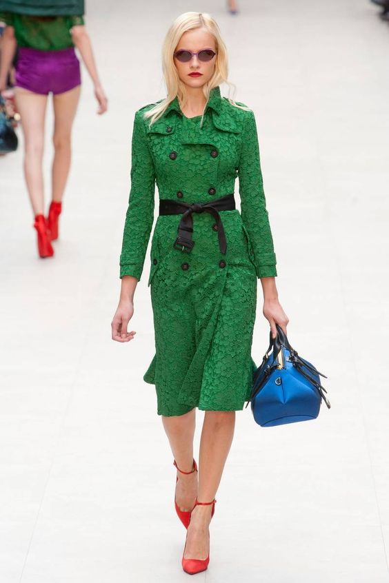 Burberry Prorsum Spring 2013 RTW Collection - Fashion on TheCut