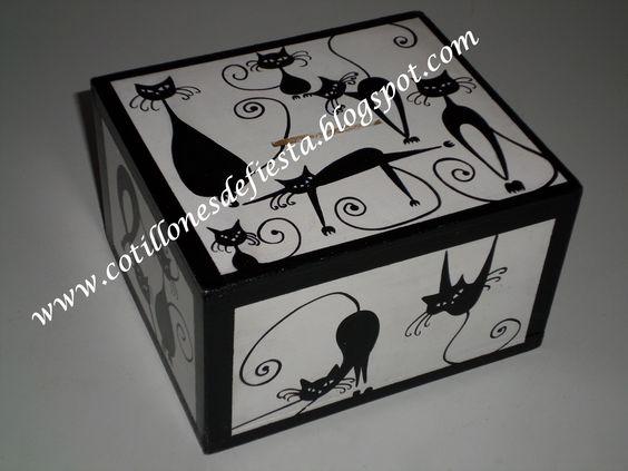 caja de madera mdf pintada a mano cajas pintadas a mano