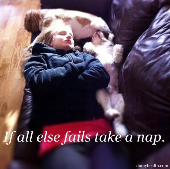 """When All Else Fails, Take A Nap"""