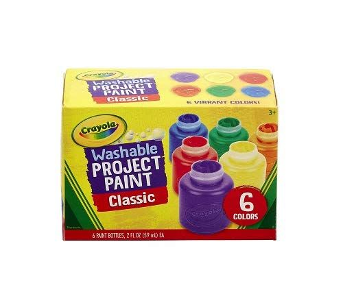 Crayola Washable Kids Paint Classic Colors 6 Count Pai Https