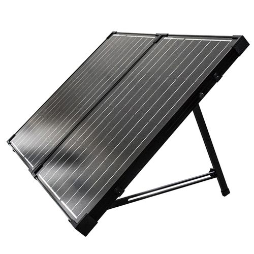 100 Watt 12 Volt Monocrystalline Foldable Solar Suitcase W O Controller Solar Panels Solar Best Solar Panels