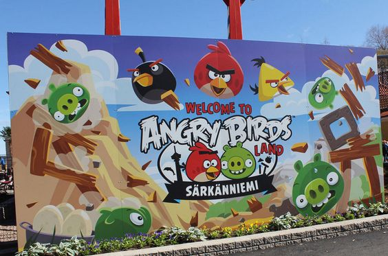Parque temático Angry Birds na Finlândia.