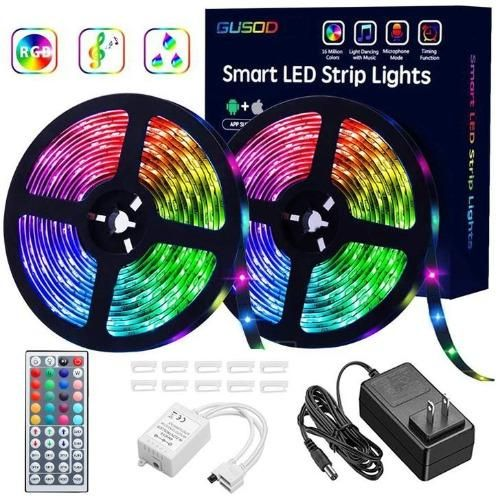 Buy 2 Free Shipping Rgb Led Strip Lights Remote Control Included Royafay Shop In 2020 Led Strip Lighting Strip Lighting Tape Lights
