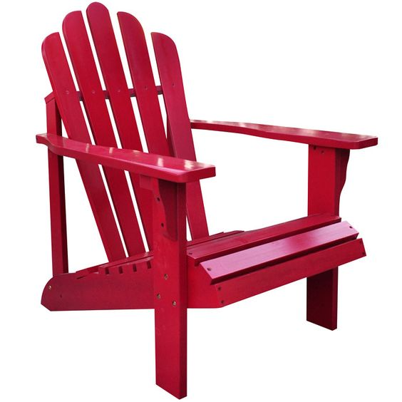 Adirondack Chair In Chili Pepper I Have Two Of These On
