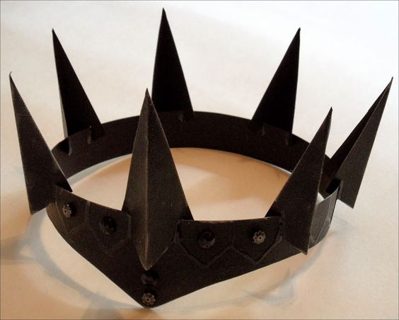DIY Evil Queen Crown: