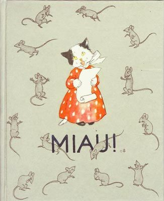 """Miau!"" by Ida Bohatta-Morpurgo, 1936 - book cover"
