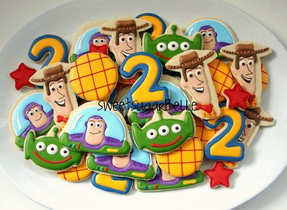 Galletas de Toy Story por Sugarbelle