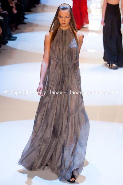 Karlie Kloss Mercedes Benz New York Fashion Week Derek Lam Fall 2011 Hananexposures