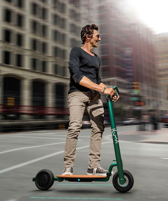 Kuma. Electric Scooter Portable on Behance