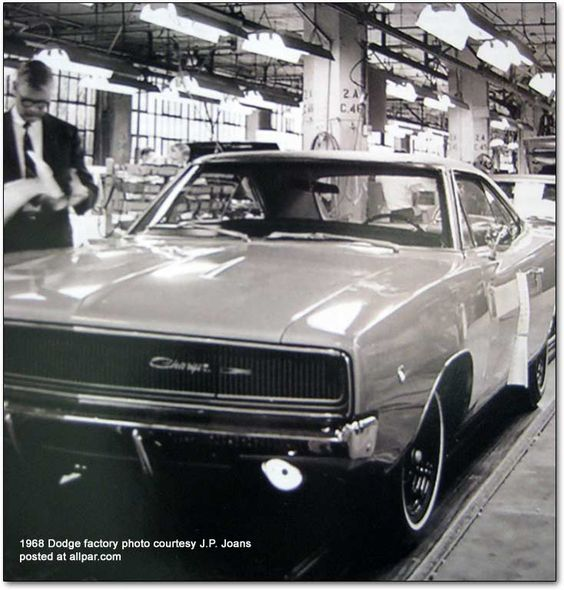 1968 Dodge Charger One Of The Great Muscle Cars Oh To Have