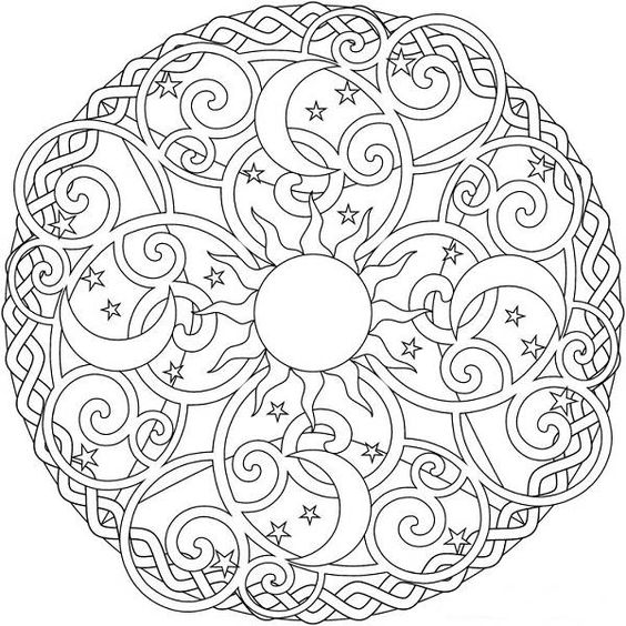free paisley hearts and flowers design coloring pages - Gianfreda.net