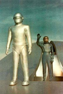 The Day the Earth Stood Still-the original - still one of the best SF movies ever made