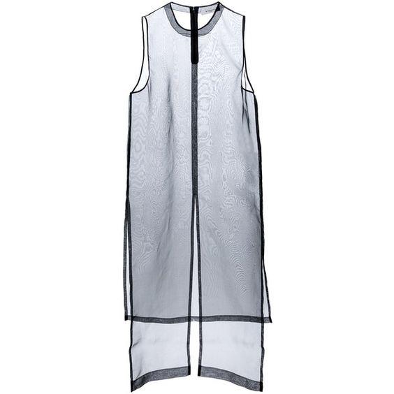 GIVENCHY sheer organza dress