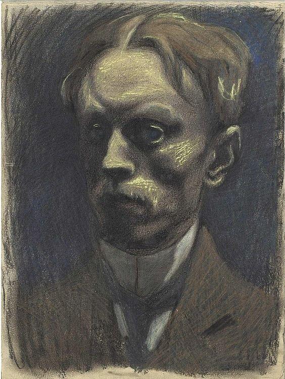 Leon Spilliaert - Self-portrait, 1911