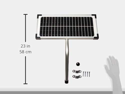 10 Watt Solar Panel Kit Fm123 For Mighty Mule Automatic Gate Openers Useful Tools Store Solar Panel Kits Solar Panels Solar Power