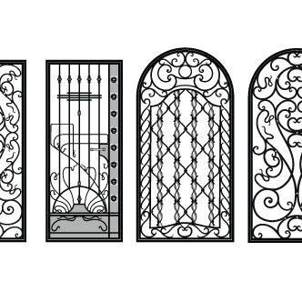 Rejas antiguas dibujo buscar con google florituras pinterest dibujo search and antigua - Rejas de forja antiguas ...