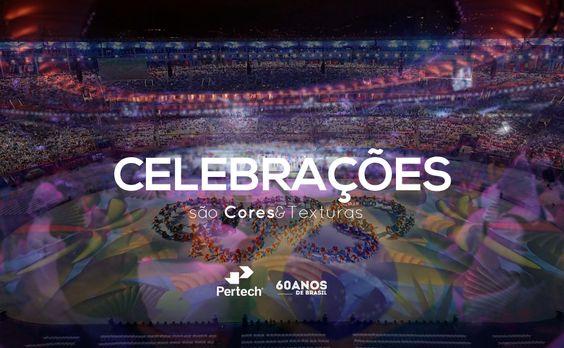 Parabéns aos atletas e todos aqueles que fizeram deste evento um show de Cores&Texturas.  #Inspiracao #Rio2016 #ShowDeCores #BoaSemana #Pertech60anos #VocêMerecePertech