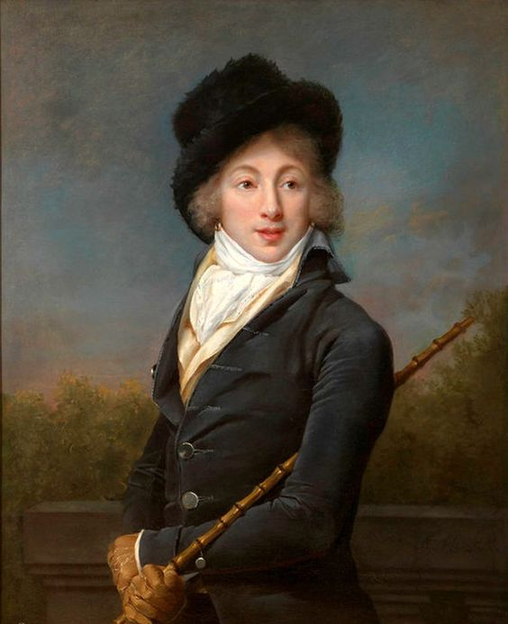 1793 Adèle Romany - Portrait of Auguste Vestris:
