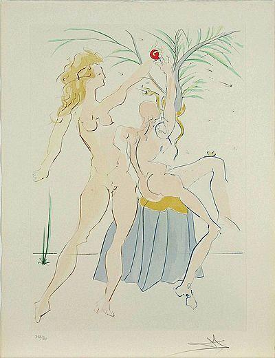 Salvador Dali, Adam and Eve