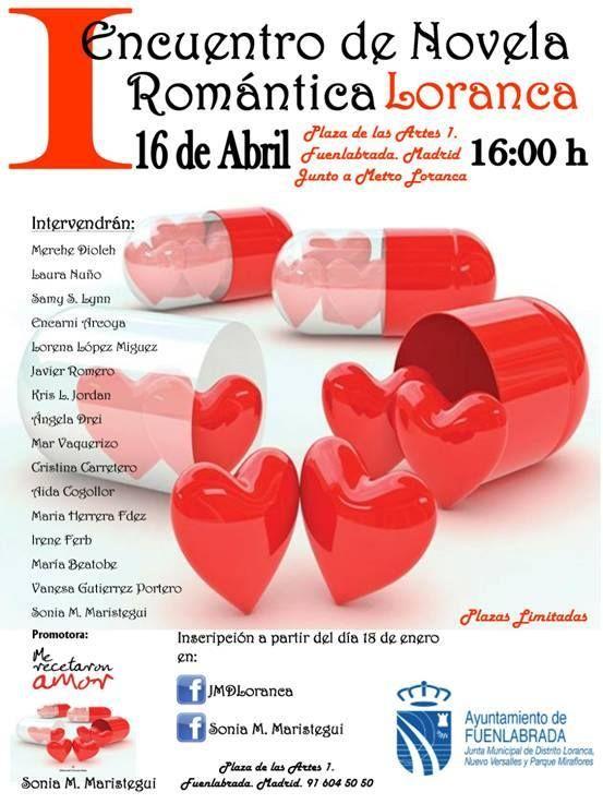 16/04/16 I Encuentro de Novela Romántica Loranca