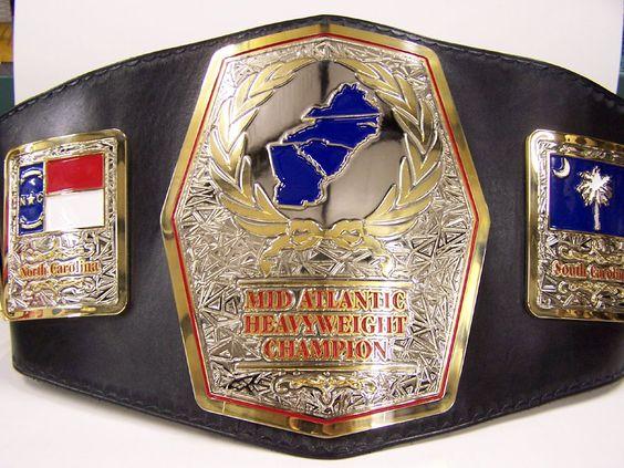 Mid Atlantic Championship Belt Classic Wrestling