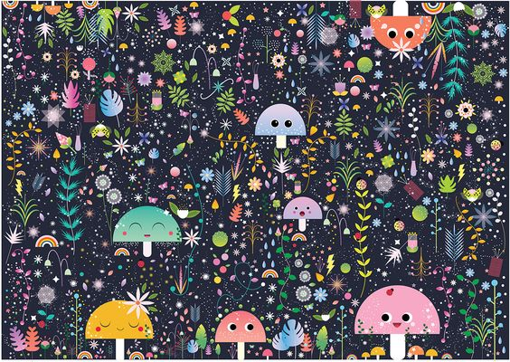 Magic Forest on Behance - Alisha Jensen