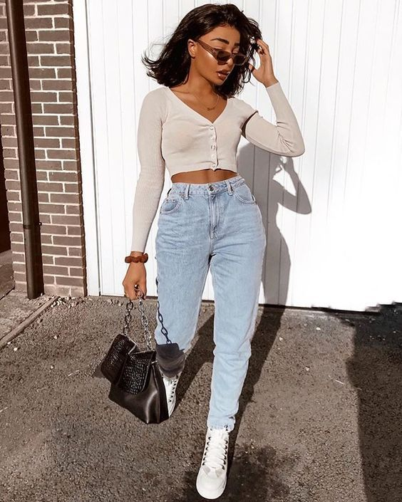 Streetstylecollection Shout Out To Dreamy Society Tumblr The Best Art Meme Collection Fashion Mom Jeans Outfit Casual Outfits