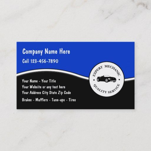 Auto Repair Business Cards Zazzle Com Auto Repair Repair Car Repair Service