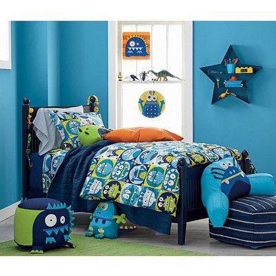 Monsters Percale Kids Sheets & Bedding Set | Company Kids