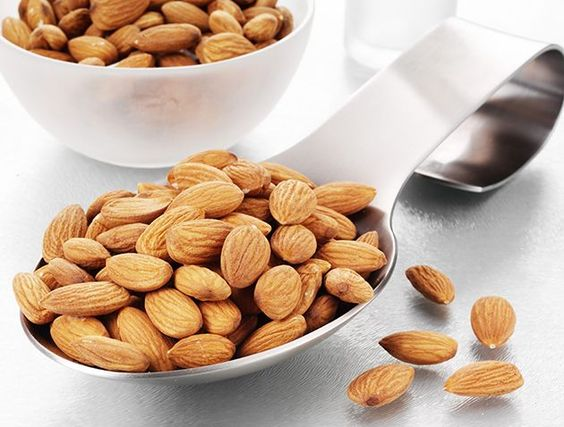 Nuts were previously thought to contain too much cholesterol. Copyright [Rex]