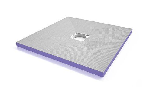 Matériaux isolants, Panneaux de construction, Polystyrène extrudé, XPS, Receveurs de douche - JACKOBOARD Aqua Solid