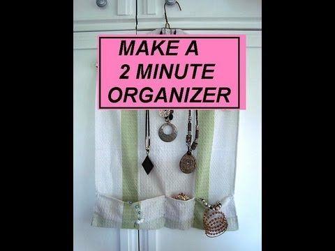 organisateur de bijoux fait avec un torchon un cintre et quelques pingles nourrice. Black Bedroom Furniture Sets. Home Design Ideas