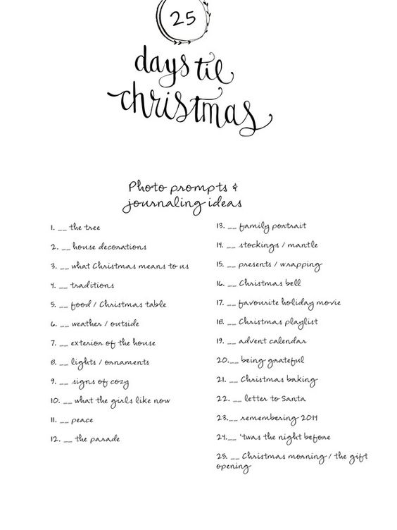 December Album 2014 {Prompts} by LilyandTwig at @studio_calico