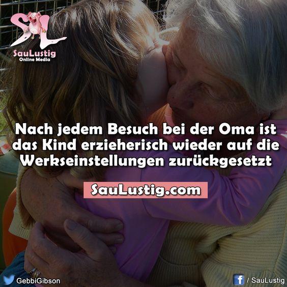 Oma ist die Beste ...
